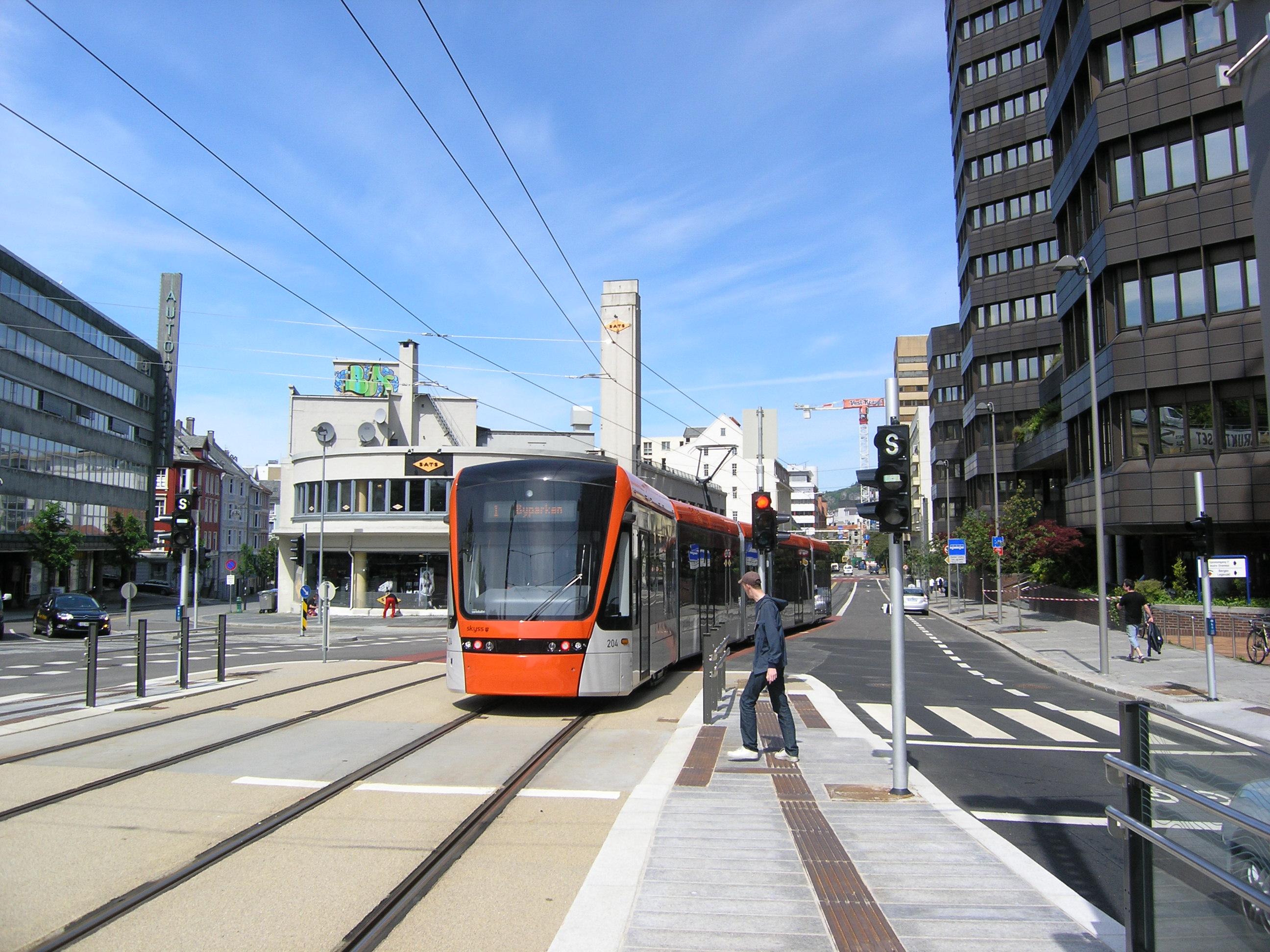 Bergenin uusi raitiotie