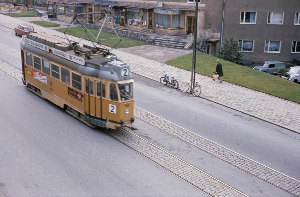TuKL 54, Martinkatu, Turku 15.8.1968 Kuva Mikko Alameri.