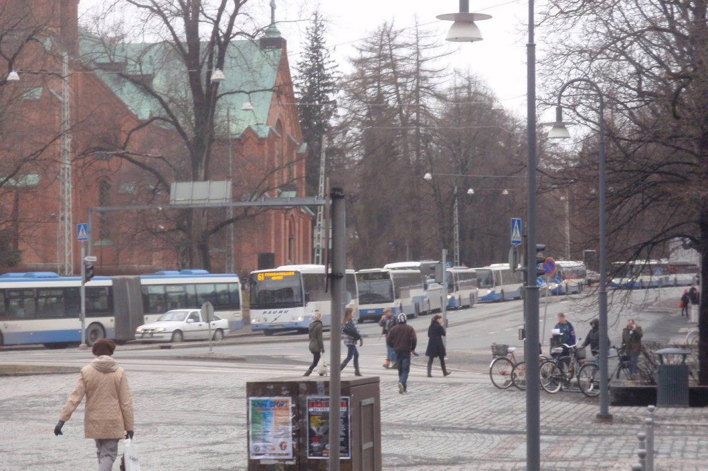 Bussijono Tampereella